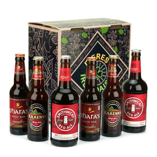 Caisse de 6 bières rouge irlandaises (Irish Red Ales)