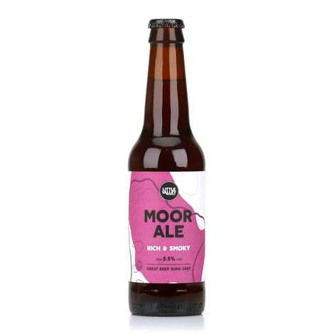 Brasserie Little Valley - Moor Ale - Organic English red beer 5.5%