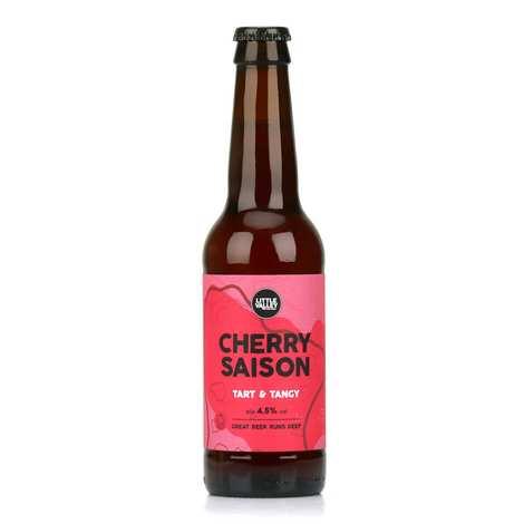 Brasserie Little Valley - Cherry Saison - Bière anglaise bio au cassis et à la cerise 4.5%
