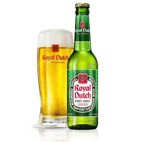 United Dutch Breweries - Royal Dutch Post Horn - Bière blonde Hollandaise 5%