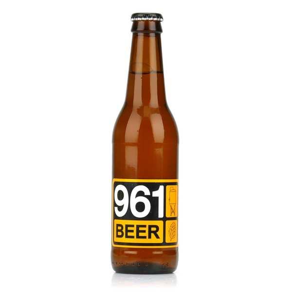 961 beer lager - Lebanese Blonde Beer 5%