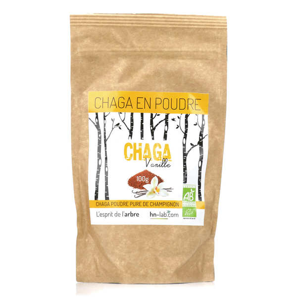 Organic Chaga with Vanilla in Powder