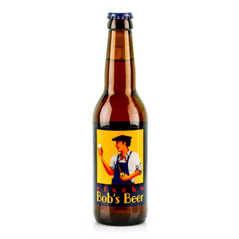 Etxeko Bob's Beer - Pale Ale Etxeko - Beer from French Basque Country 4.5%