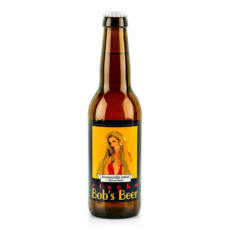 Etxeko Bob's Beer - Etxeko Withe with Chili - Beer from French Basque Country 4%