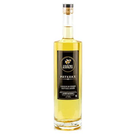Egiazki - Patxaka - Liqueur de pomme sauvage anisée du Pays basque 15%