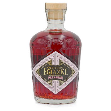 Egiazki - Patxaran - Liqueur de prunelle anisée du Pays basque 25%