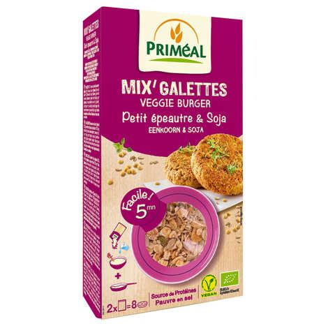 Priméal - Mix pour galette de petit épeautre et soja bio