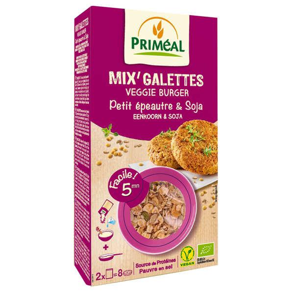 Mix pour galette de petit épeautre et soja bio