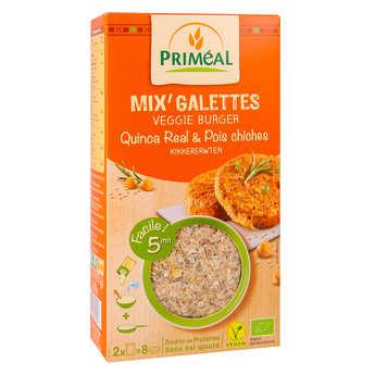 Priméal - Mix pour galette de quinoa et pois chiche bio