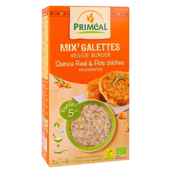 Mix pour galette de quinoa et pois chiche bio