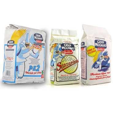 Molino Spadoni Italian flour for pizza assortment
