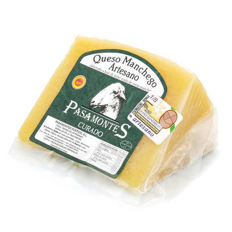Pasamontes - Manchego curado de La Mancha AOP - fromage au lait cru de brebis