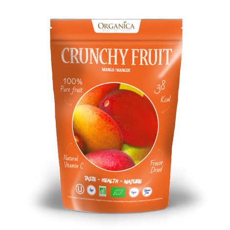 Organica - Crunchy fruit - Organic Freeze-Dried Mango