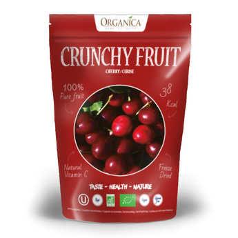 Organica - Crunchy fruit - cerise lyophilisée bio