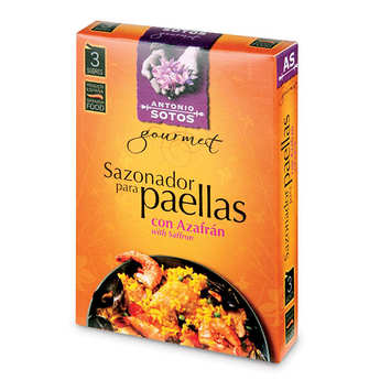 Antonio Sotos - Paella Natural Spices Mix with Saffron