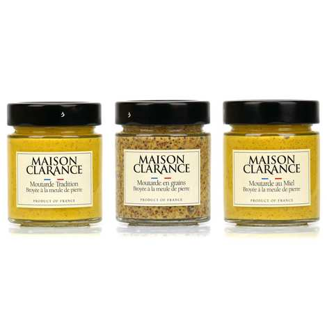 Maison Clarance - Maison Clarance's mustards assortment