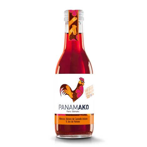Panamako - Hibiscus, infused cinnamon sticks and apple juice