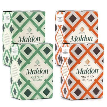 Assortiment de sels de Maldon