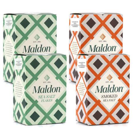 Maldon Crystal Salt - Assortiment de sels de Maldon