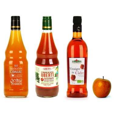 Organics cider vinegars assortment