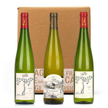 Lissner - Box 3 vins d'Alsace bio et sans sulfites