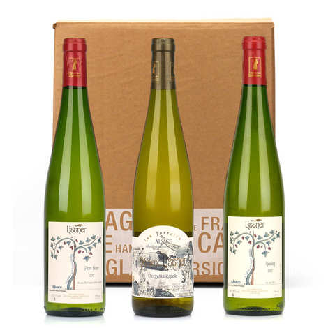Lissner - 3 Lissner wines from Alsace Box