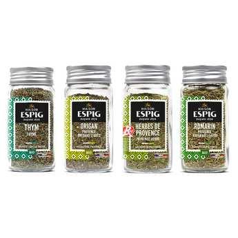 Maison Espig - Assortiment d'herbes aromatiques Espig