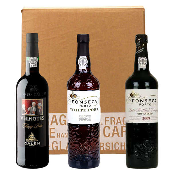3 wines from Portugal box
