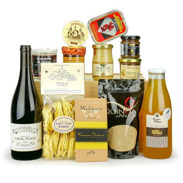 Panier Cadeau Provence : Panier cadeau d?gustation gourmande bienmanger paniers