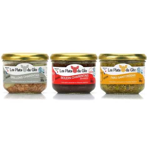 Les plats du Gîte - Specialities from Charente Assortment