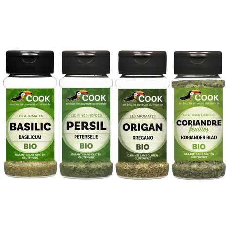 Cook - Herbier de France - Cook's must have spices Assortment