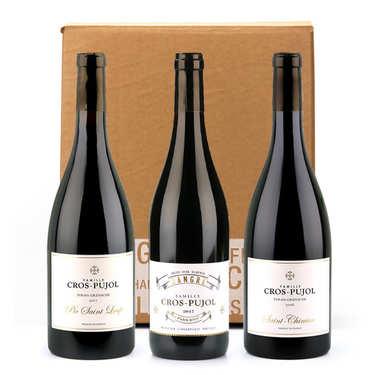 Assortiment de 3 vins Famille Cros Pujol