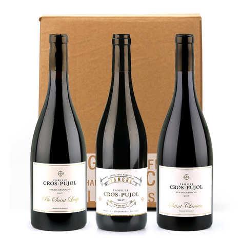 Famille Cros Pujol - Assortiment de 3 vins Famille Cros Pujol
