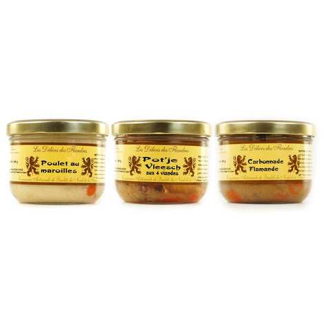 Les Cuisinés des Sources - Specialities from the north of France Assortment