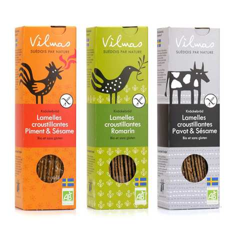 Vilmas Knäckebröd AB - Gluten free crackers assortment