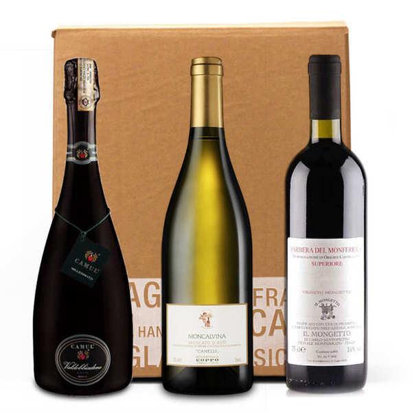 Box 3 vins italiens - 3 bouteilles de 75cl