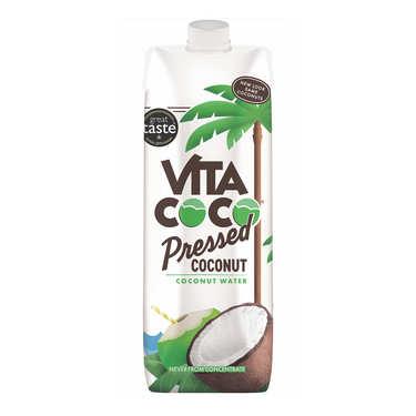 Vita coco - 100% pure eau de coco avec pulpe