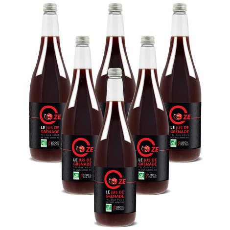 Oze - Organic Pure Pomegranate Juice Oze special offer 6 L