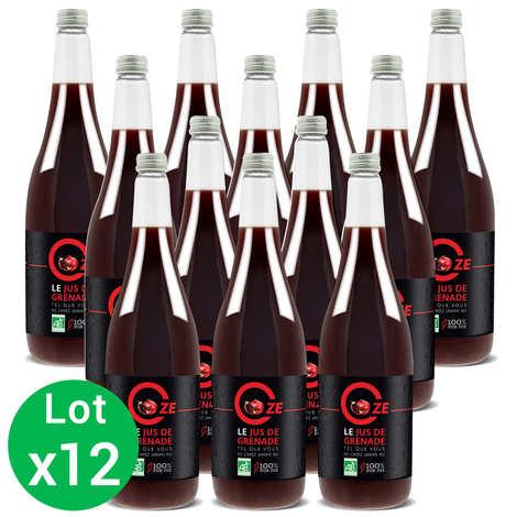 Oze - Organic Pure Pomegranate Juice Oze special offer 12 L
