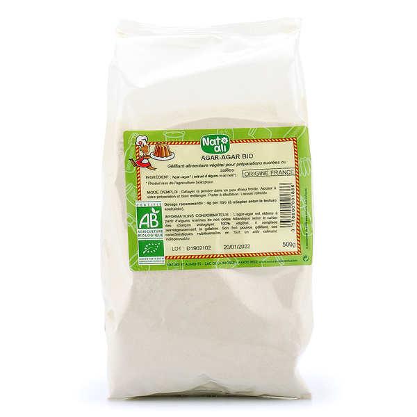 Agar agar en poudre bio - En sac