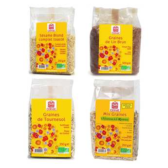 Celnat - Assortiment de graines pour pain bio