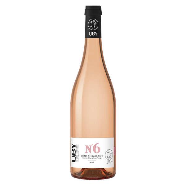 UBY N°6 vin Rosé de gascogne