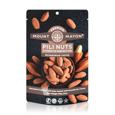 Mount Mayon - Pili Nuts with Cocoa from Ecuador