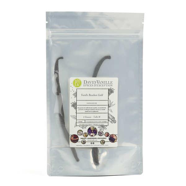Gold Bourbon Vanilla from Madagascar