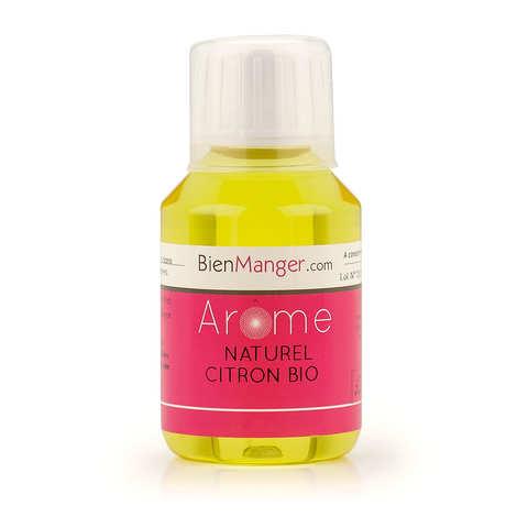 BienManger aromes&colorants - Arôme alimentaire naturel de citron bio