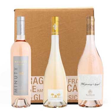 Box 3 vins rosés « prestige »