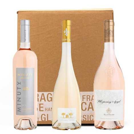 - Box 3 vins rosés « prestige »