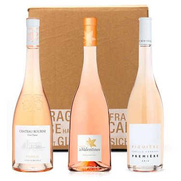 Box 3 vins rosés bio