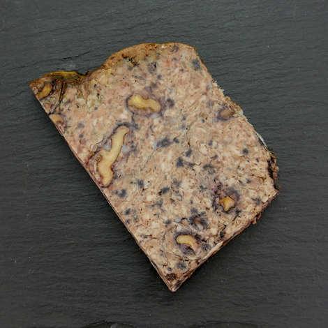 Les 3 pastres - Pâté roquefort noix d'Aveyron