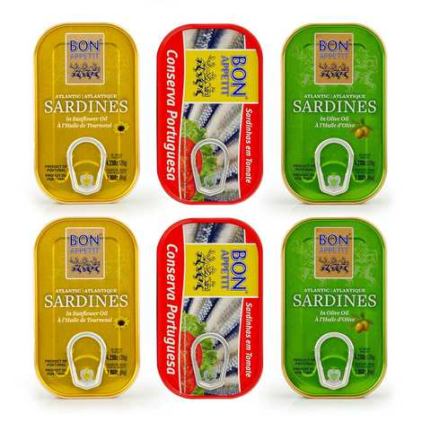 Bon Appetit - Sardines from Portugal discovery offer